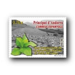 2014 Sellos Andorra Español. (Edifil 422) Diversidad Andorrana