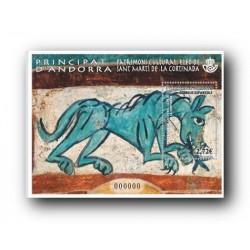 2014 Sellos Andorra Español. (Edifil 424) Patrimonio Cultural