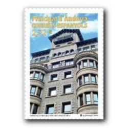 2014 Sellos Andorra Español. (Edifil 426) Arquitectura del Granito