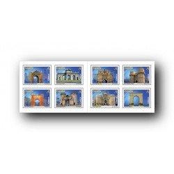 2012 Sellos de España (4681/88). Arcos y Puertas Monumentales.