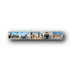 2012 Sellos de España (4689/90). Turismo Español.