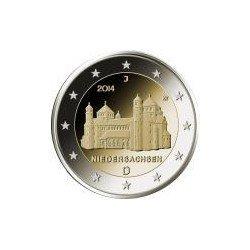 Moneda 2 euros conmemorativa. Alemania 2013 Abadía Maulbronn (5 cecas)