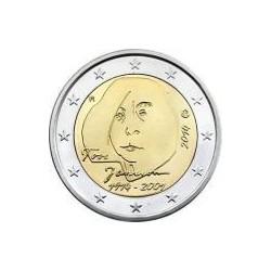 Moneda 2 euros conmemorativa. Finlandia 2014 Janson