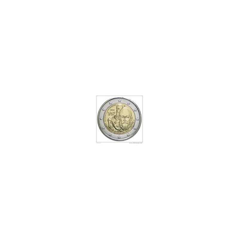 Moneda 2 euros conmemorativa. Grecia 2013 Academia Platónica.