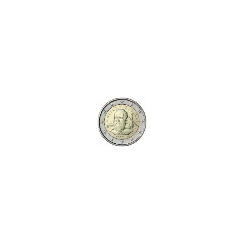 Moneda 2 euros conmemorativa. Italia 2013 Boccaccio