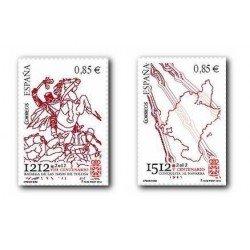 2012 Sellos de España (4704/05). Efemérides.