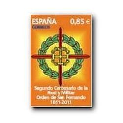 2012 Sellos de España (4707). Real y Militar Orden de San Fernando