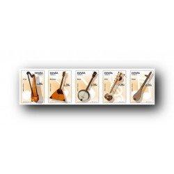 2012 Sellos de España (4710/14). Instrumentos Musicales.