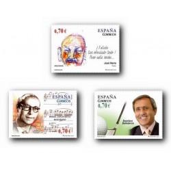 2012 Sellos de España (4716/18). Personajes.