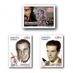 2012 Sellos de España (4720/22). Cine Español.