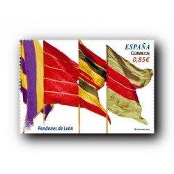 2012 Sellos de España (4728). Pendones de León.