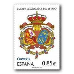 2012 Sellos de España (4730). Cuerpo de Abogados del Estado.