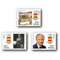 2012 Sellos de España (4731/33). Centenario del Comité Olímpico Español.