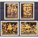 1990 Yugoslavia. Esculturas Religiosas. Yvert.2324/27 **