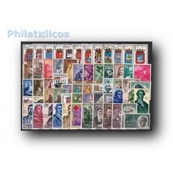 Sellos de España 1963 año completo