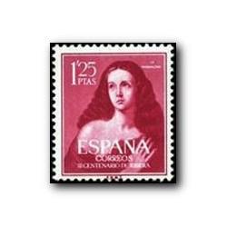 """1954 Sellos de España (1129). III Cent. de Ribera """"El Españoleto""""."""