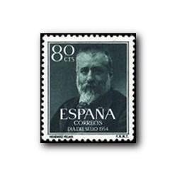 1954 España. Marcelino Menéndez y Pelayo. (Edif. 1142)**