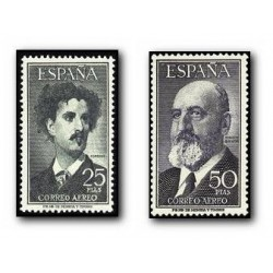 1955 España. Fortuny y Torres Quevedo. (Edif. 1164/65)**