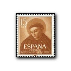 1955 Sellos de España (1183). San Vicente Ferrer.