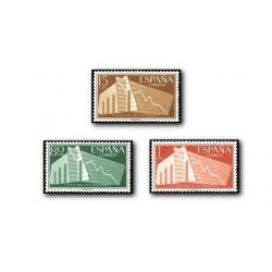 1956 España. Centenario de la Estadística Española. (Edif. 1196/98)**