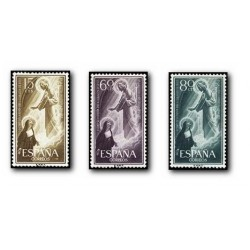 1957 España. Sagrado Corazón de Jesús. (Edif. 1206/08)**