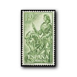 1958 Sellos de España (1209). Gonzalo Fernandez de Córdoba.