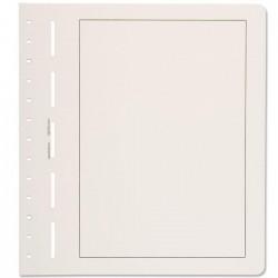 Hojas Leuchtturm para álbumes de sellos (en blanco con márgenes)