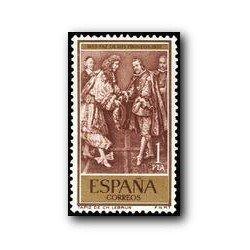 """1959 Sellos de España (1249). Tratado """"Paz de los Pirineos"""""""