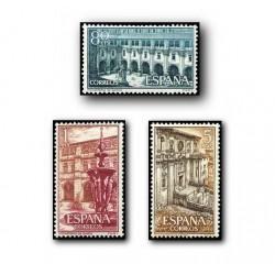 1960 España. Real Monasterio de Samos. (Edif.1322/24) **