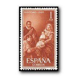 1960 Sellos de España (1325). Navidad.