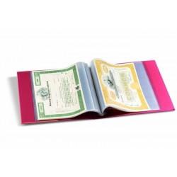 Album de billetes y documentos Leuchtturm KANZLEI