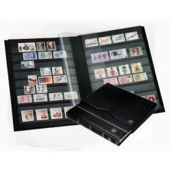 Clasificador de sellos Leuchtturm Piel con Cajetin 64 páginas