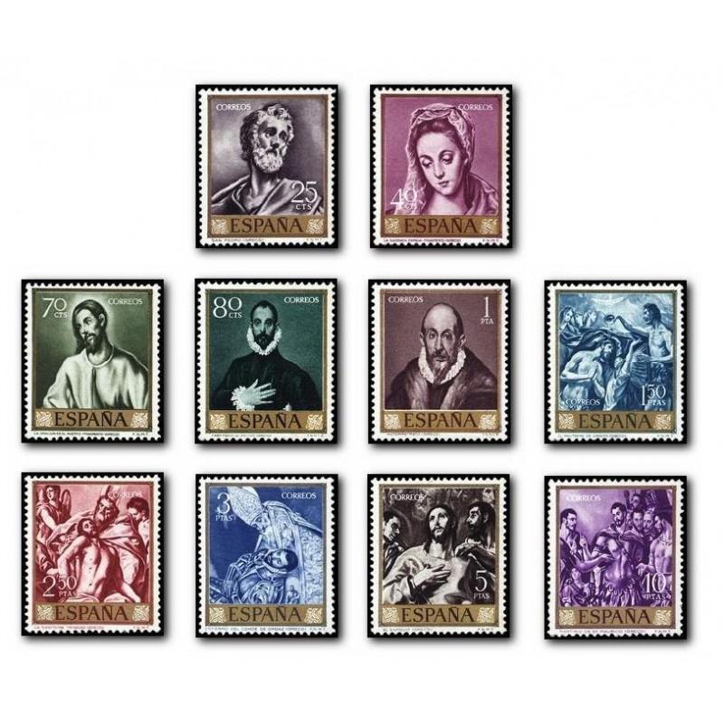 """1961 España. Domenico Theotocopoulos """"El Greco"""". (Edif.1330/39) **"""