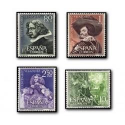 1961 España. III Centenario de la Muerte de Velazquez. (Edif.1340/43) **