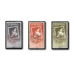 1961 España. Día Mundial del Sello. (Edif.1348/50) **
