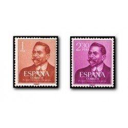 1961 España. Juan Vázquez de Mella. (Edif.1351/52) **