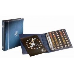 Álbum de Monedas Leuchtturm Optima Euro preimpreso (con hojas)
