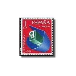 1966 España. Salón de Artes Gráficas. Edif.1709 **