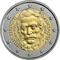 Moneda 2 euros conmemorativa. Eslovaquia 2014