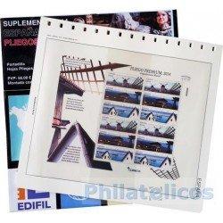 Suplemento Edifil España Pliegos Premium 2015