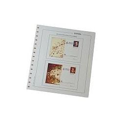 Juego Hojas Tarjetas Entero Postales España 2013