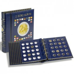 Álbum Leuchtturm Vista para Monedas de 2 euros (con hojas)