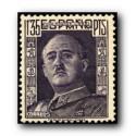 1949 Sellos de España (1061). General Franco.