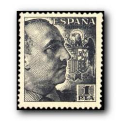 1949 Sellos de España (1056). General Franco.