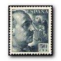 1949 Sellos de España (1054). General Franco.