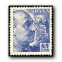 1949 Sellos de España (1053). General Franco.