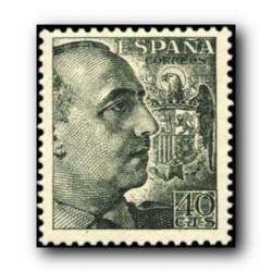 1949 Sellos de España (1052). General Franco.
