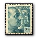 1949 Sellos de España (1051). General Franco.