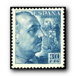 1949 Sellos de España (1050). General Franco.