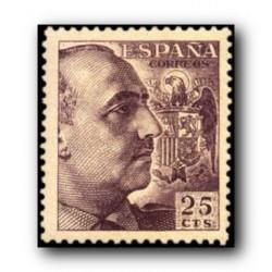 1949 Sellos de España (1048). General Franco.